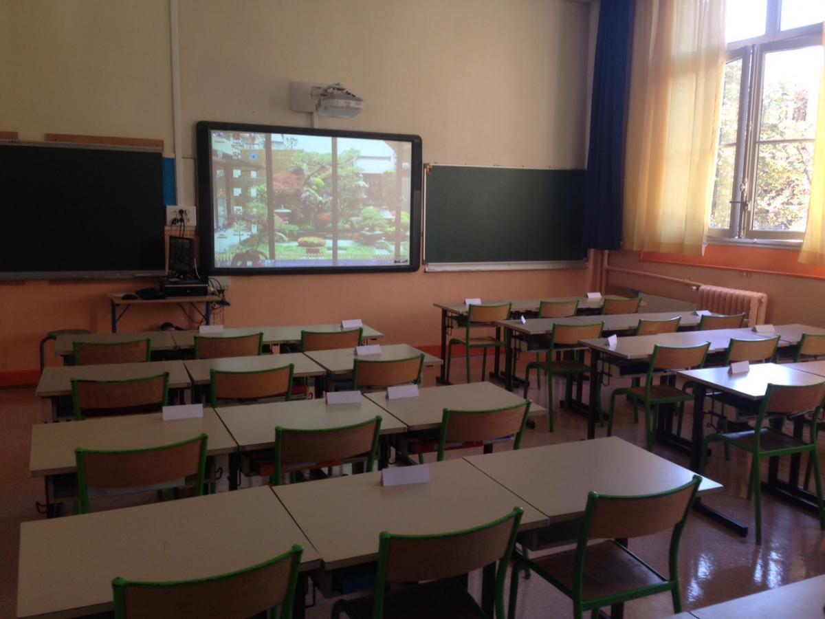Classe avec écran